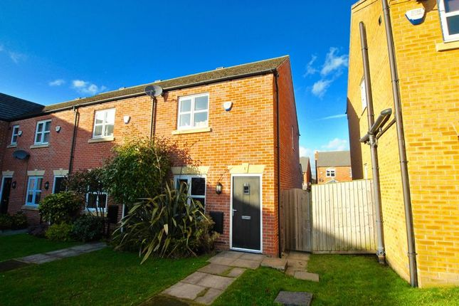 Thumbnail Terraced house for sale in Adamson Close, Latchford