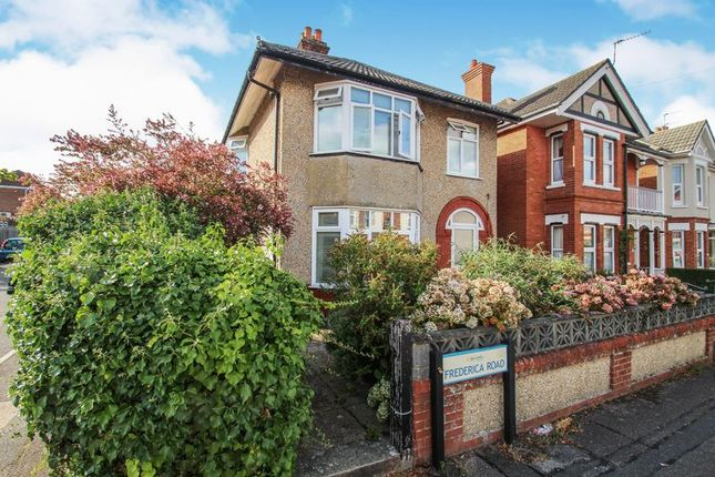 Thumbnail Detached house to rent in Frederica Road, Winton, Bournemouth