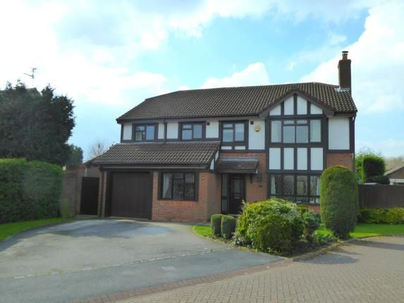 Thumbnail Detached house for sale in Foxhills Close, Appleton, Warrington, Cheshire