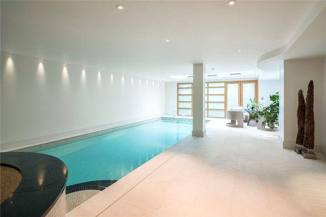 Swimming Pool of Upper Phillimore Gardens, Kensington, London W8