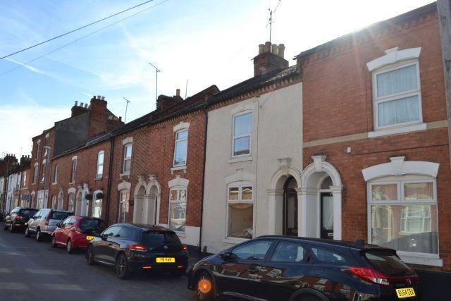 Front of Hood Street, The Mounts, Northampton NN1