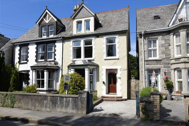 Thumbnail Semi-detached house to rent in Egloshayle Road, Wadebridge, Cornwall