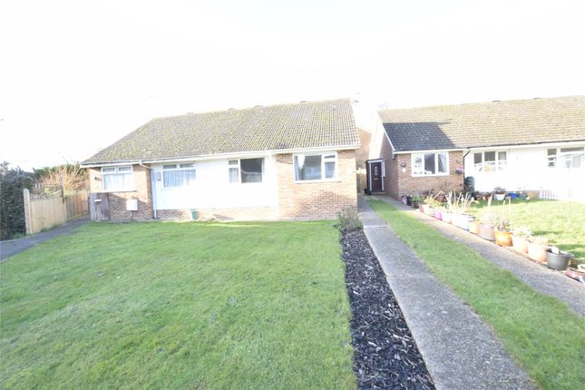 Thumbnail Semi-detached bungalow to rent in Bramble Drive, Hailsham, East Sussex