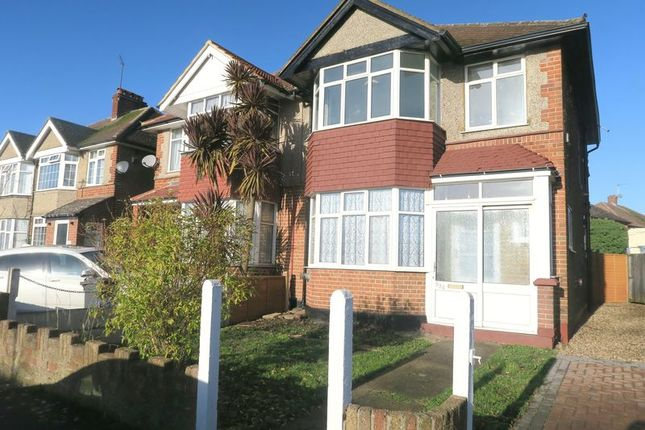 Thumbnail Semi-detached house for sale in Staines Road, Bedfont, Feltham