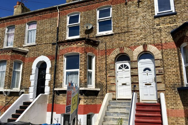 Thumbnail Terraced house for sale in Canterbury Road, Margate