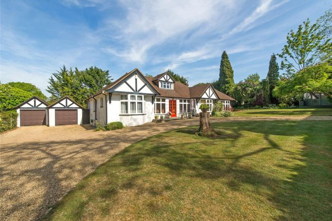 Thumbnail Detached bungalow for sale in The Downs, Leatherhead, Surrey