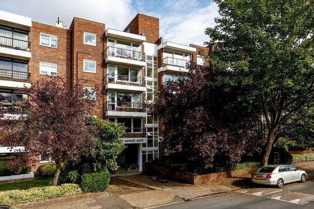 Thumbnail Flat to rent in Manor Gate, St. John's Avenue, London