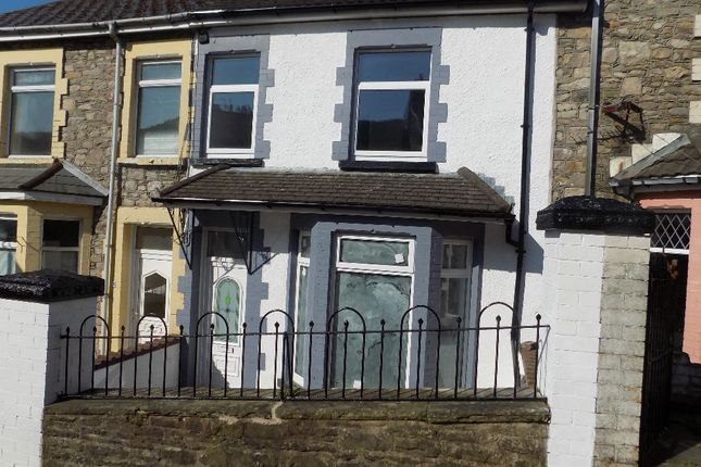 Thumbnail Terraced house for sale in Portland Street, Abertillery