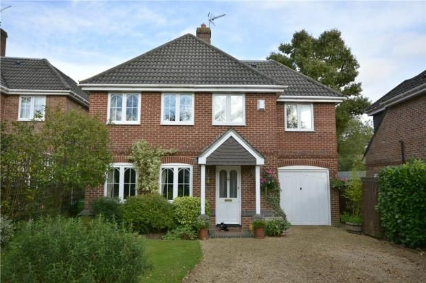 Thumbnail Detached house for sale in Hawthorn Close, Colden Common, Winchester