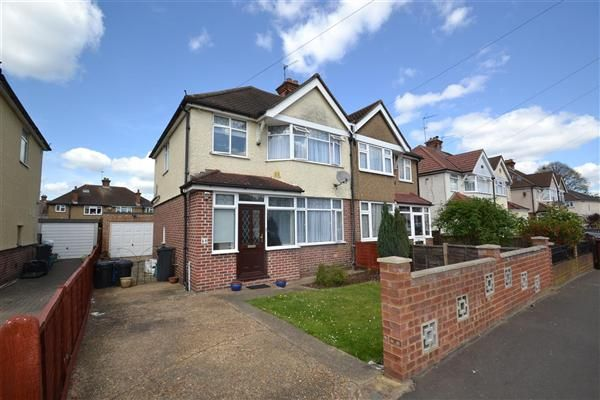 Semi-detached house for sale in Iverna Gardens, Feltham