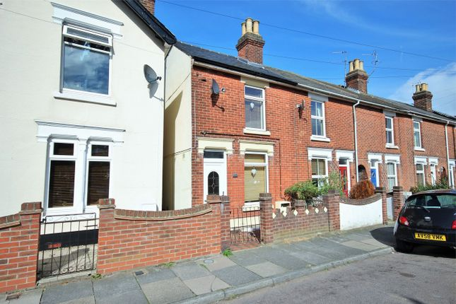 Thumbnail End terrace house for sale in Canterbury Road, Colchester, Essex