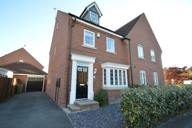Thumbnail Semi-detached house for sale in Bedale Road, Castleford