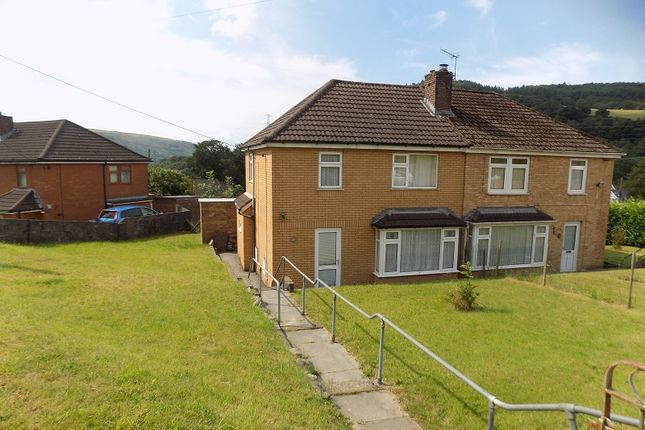 Thumbnail Semi-detached house for sale in Cefn Coed Road, Cwmavon, Port Talbot, Neath Port Talbot.