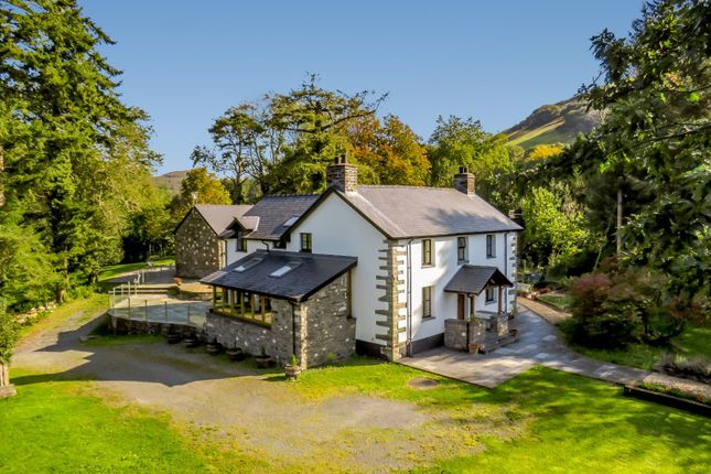 5 bed detached house for sale in Pennal, Machynlleth, Powys SY20