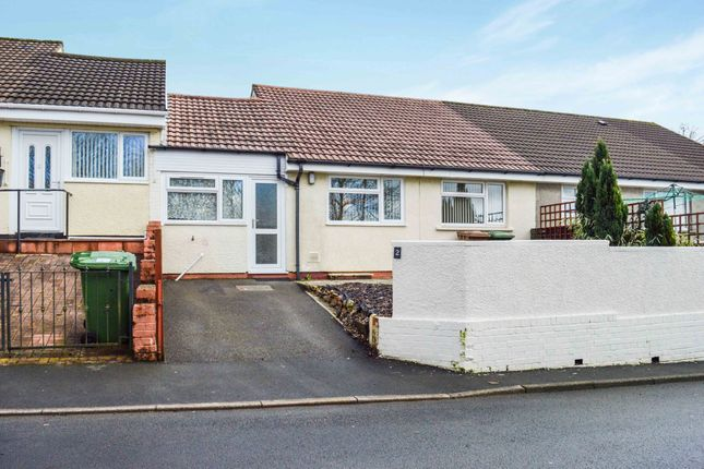 Thumbnail Terraced bungalow for sale in St. Davids Road, Maesycwmmer, Hengoed