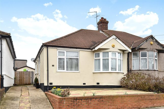 Thumbnail Semi-detached bungalow for sale in Hillview Road, Chislehurst