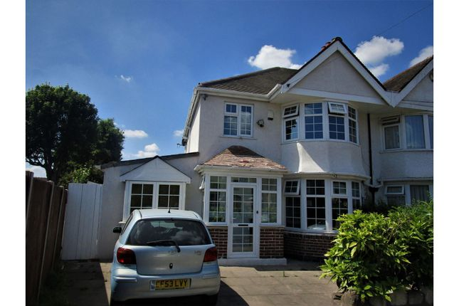 Thumbnail Semi-detached house for sale in Warwick Road, Birmingham