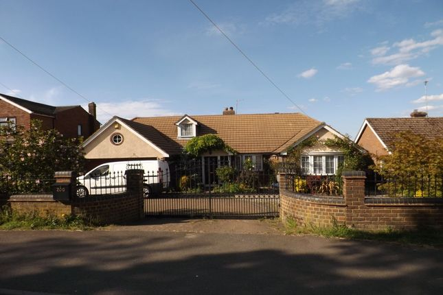 Thumbnail Bungalow to rent in Common Road, Kensworth, Dunstable