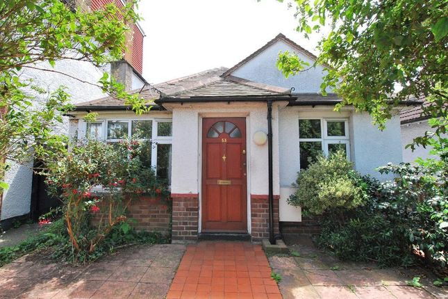 Thumbnail Bungalow for sale in Erlesmere Gardens, Ealing, London