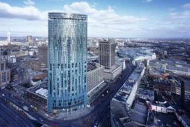 Thumbnail Flat to rent in Beetham Tower, 12 Suffolk Street Queensway, Birmingham, 1bt