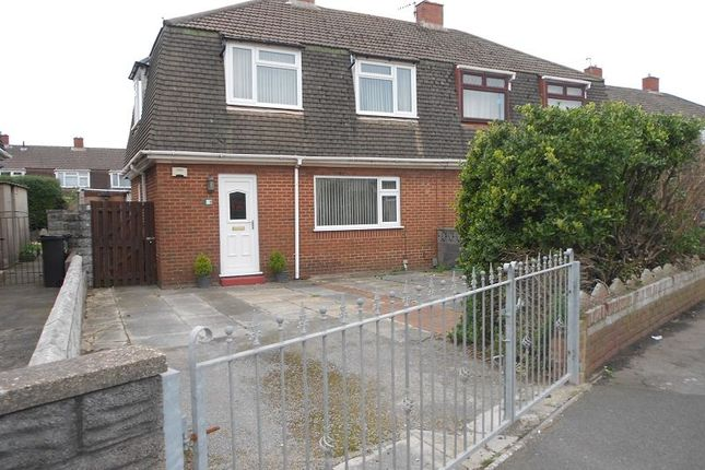 Thumbnail Semi-detached house to rent in Abbeyville Avenue, Sandfields, Port Talbot, Neath Port Talbot.
