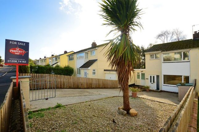 Thumbnail Semi-detached house to rent in Bawden Road, Bodmin