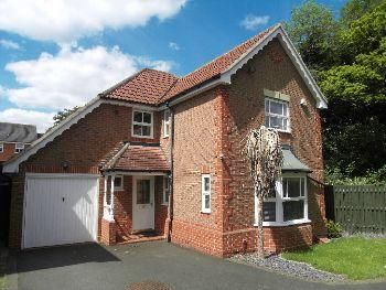 Thumbnail Detached house to rent in Whitebeam Road, Oadby
