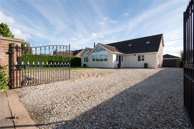 Thumbnail Detached bungalow for sale in Chandler Road, Stoke Holy Cross, Norwich, Norfolk
