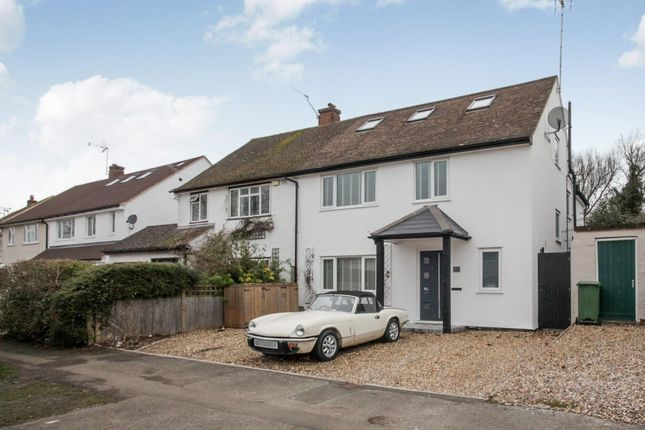 Thumbnail Semi-detached house to rent in Grove Avenue, Harpenden