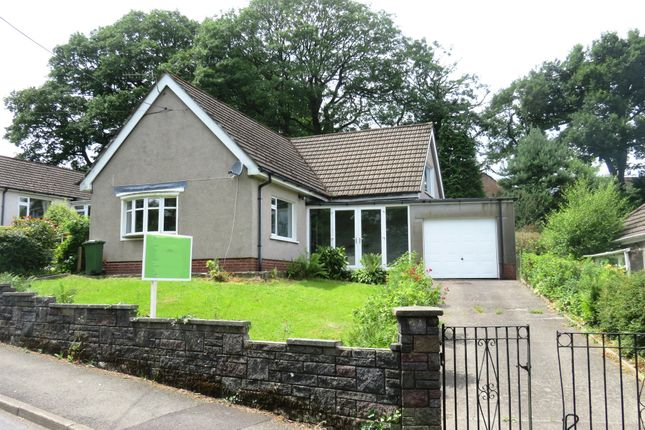Thumbnail Detached bungalow for sale in Heol Fargoed, Gilfach, Bargoed