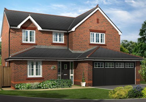 Thumbnail Detached house for sale in The Warminster, Old Quay Meadow, Off Boundary Park, Neston, Cheshire