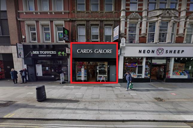 Thumbnail Retail premises to let in Tottenham Court Road, London