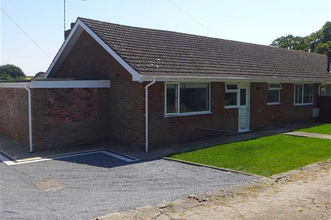 Thumbnail Bungalow to rent in Grimsby Road, Binbrook, Market Rasen