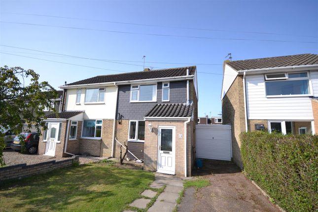 Thumbnail Semi-detached house for sale in Hellesdon, Norwich