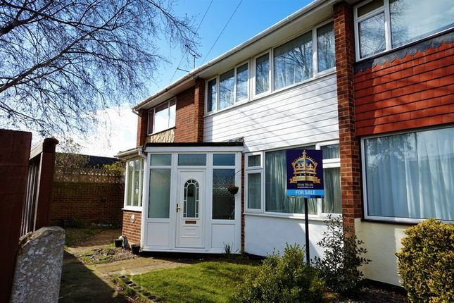 Thumbnail Terraced house for sale in St. Clements Close, Benfleet
