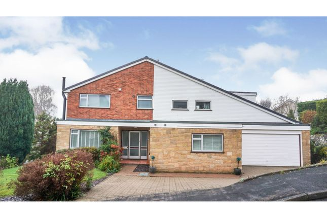 5 bed detached house for sale in Auden Close, Osbaston, Monmouth NP25