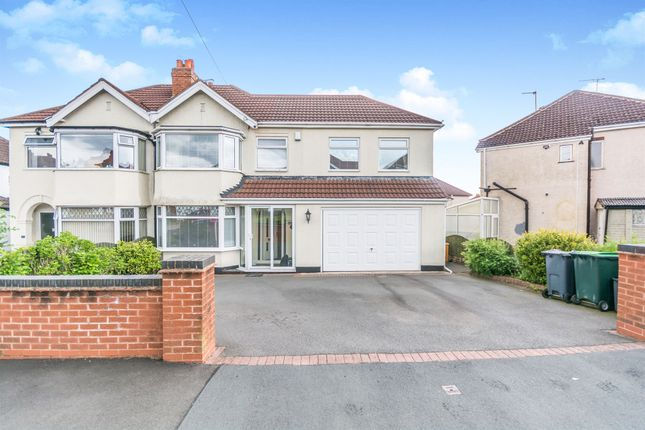 Thumbnail Semi-detached house for sale in Chestnut Road, Oldbury