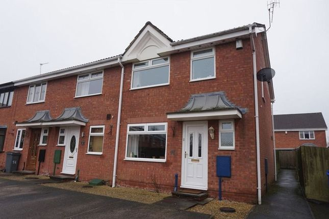 Thumbnail Town house for sale in Aldersea Close, Burslem, Stoke-On-Trent