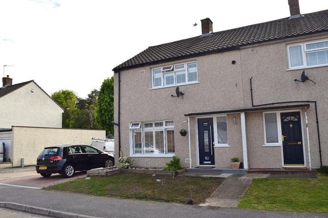Thumbnail Semi-detached house for sale in Long Ley, Harlow