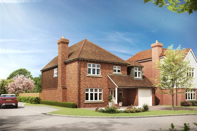 Thumbnail Detached house for sale in Queenswood Heights, Sandhurst, Berkshire