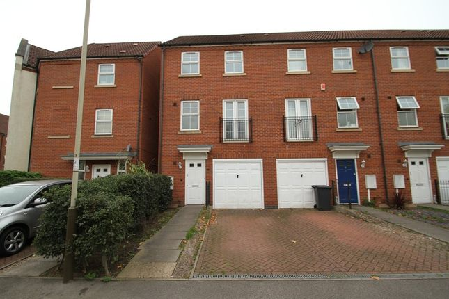 Thumbnail Terraced house for sale in Montvale Gardens, Leicester