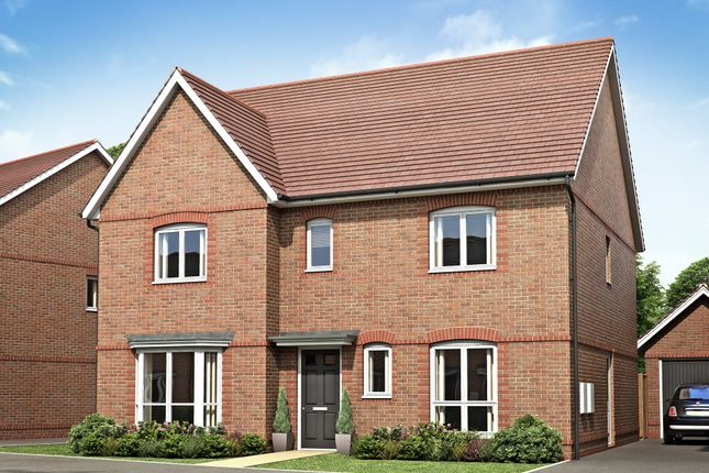 "Thumbnail Detached house for sale in ""Chelworth"" at Hyde End Road, Spencers Wood, Reading"