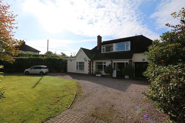 Thumbnail Detached bungalow for sale in 84, Rope Lane, Wistaston, Crewe, Cheshire