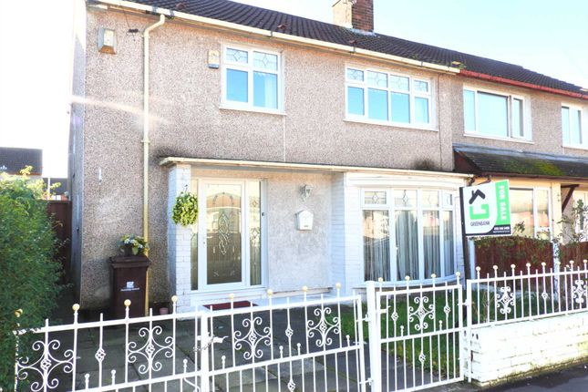 Thumbnail Semi-detached house for sale in Bramcote Road, Kirkby, Liverpool