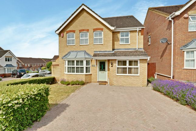 Thumbnail Detached house for sale in Markham Road, Cheshunt