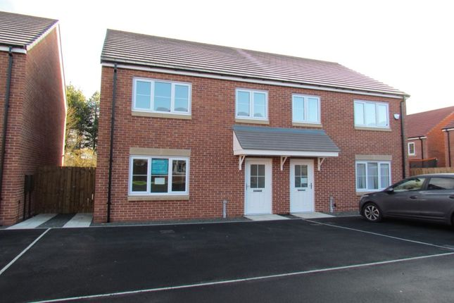 3 bed semi-detached house for sale in Roedeer Court, Wideopen, Newcastle Upon Tyne