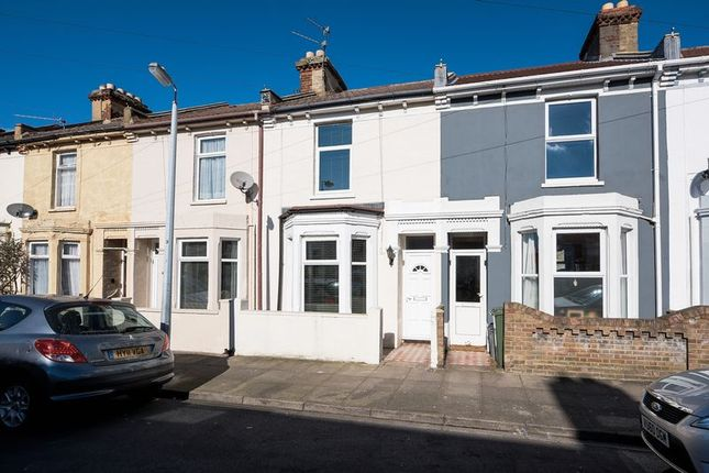 Thumbnail Terraced house to rent in Hunter Road, Southsea