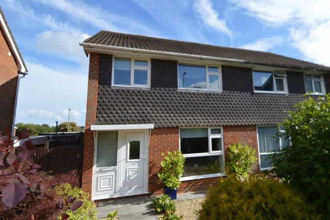 Thumbnail Semi-detached house for sale in Kingsfield Gardens, Bursledon, Southampton