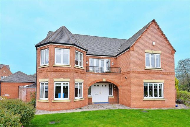 Thumbnail Detached house for sale in Blakeman Way, Lichfield, Staffordshire