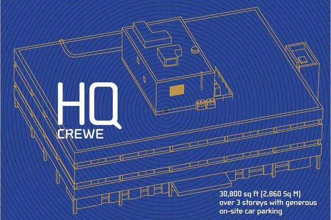 Thumbnail Office to let in HQ Crewe, Dunwoody Way, Crewe